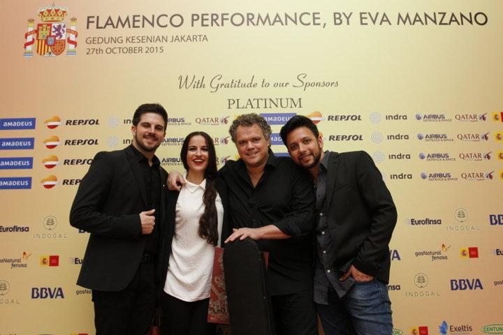 Eva Manzano - Contráta para eventos privados
